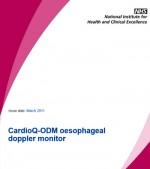 Card ioQ – ODM oesophageal doppler monitor