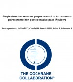 Single dose intravenous propacetamol or intravenous paracetamol for postoperative pain (Review)