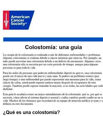 Colostomía: una guía