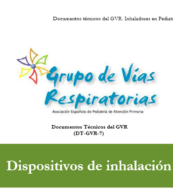 Documentos técnicos del GVR. Inhaladores en Pediatría. DT – GVR – 7